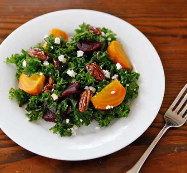 Kale and Roasted Beet