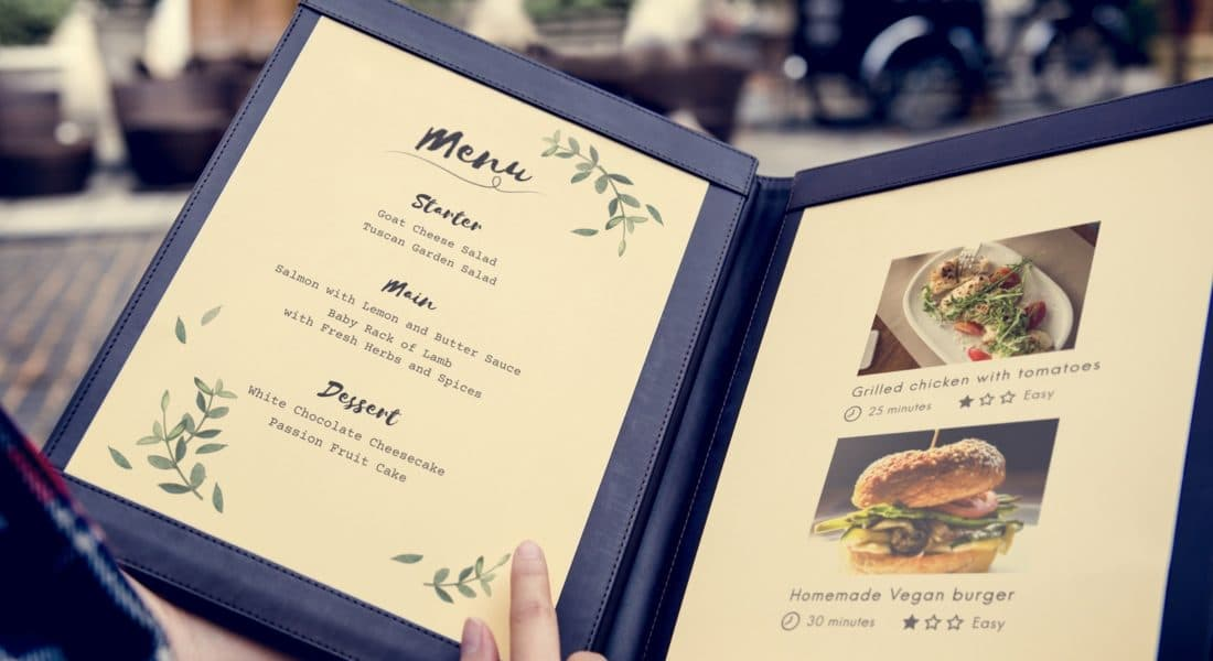 Five Star Tips: Optimizing Your Online Menu Page to Get Your Restaurant's Brand Across